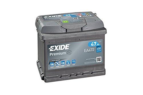 Exide Premium carbone Boost ea472/47/Ah Batterie de Voiture Prix + 7,50/EUR consigne