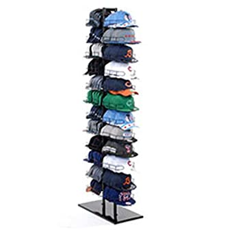 Baseball cap hat rack stand