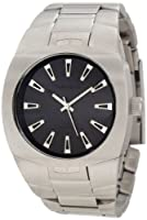Vestal Men's GHD001 Gearhead All Matte Black Ion-Plated Watch by Vestal