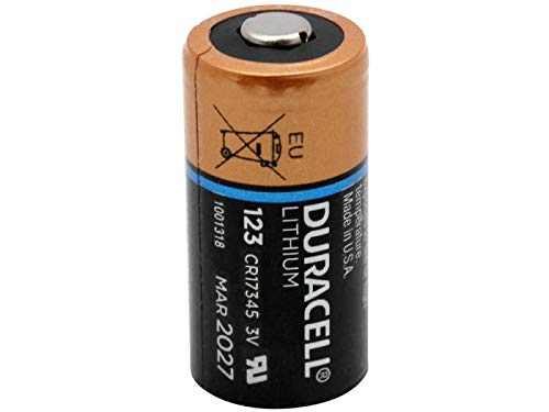Duracell DL123 Ultra 3 Volt Lithium 123 Battery 12 ()