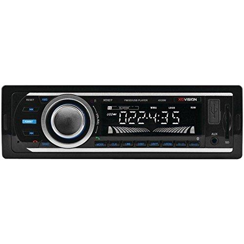 XOVISION XD107 Single-DIN In-Dash FM/MP3 Stereo Digital