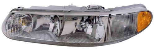 Buick Century Replacement Headlight Assembly (without Cornering Light) - Driver Side