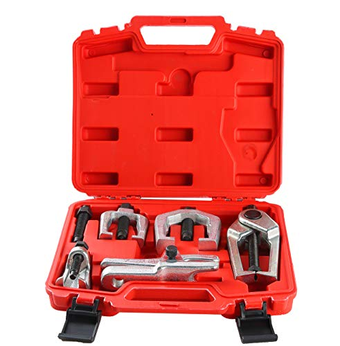 DASBET 6pc Front End Service Tool Kit Ball Joint Separator Pitman Arm Tie Rod Puller ()