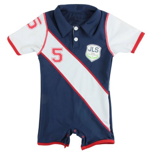 Sun Protective UV Swimsuit for Boys - JLS Polo Club - Little Scherrer