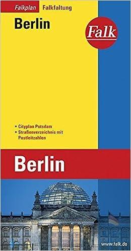 Book Berlijn plattegrond (Falkplan Falk-Faltung) by Falkfaltung Berlin (2000-01-01)
