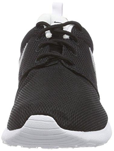 white Scarpe Black Nike Ginnastica Silver white Roshe Nero Mtllc One Unisex Bambino da Gs 7qw4Utq