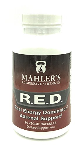 Mahlers R.E.D. Real Energy Dominator Adrenal Support, 90 capsules
