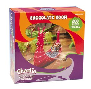 Charlie Amp The Chocolate Factory 200pce Chocolate River