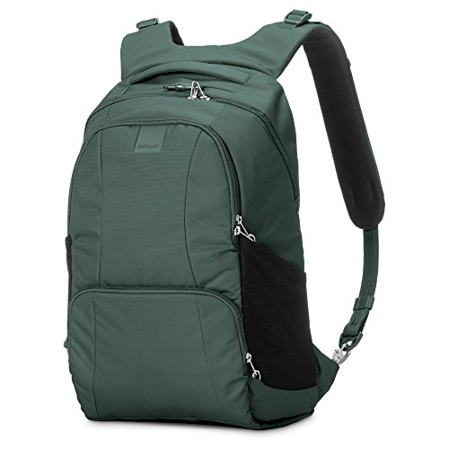 Pacsafe Metrosafe LS450 Anti-Theft 25L Backpack, Pine Green