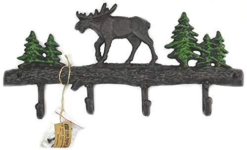 - Lulu Decor, Cast Iron Moose Key Holder (Moose)