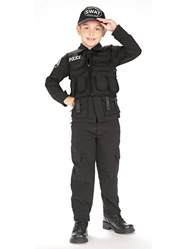 Young Heroes Child's SWAT Police Costume, -