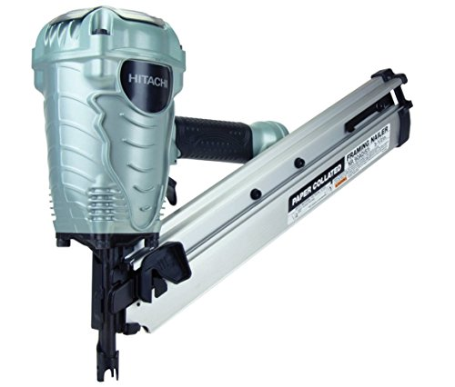 Hitachi NR90AD(S1) Clipped Head Framing Nailer, 2 inch to 3-1/2 inch #NR90AD(S1)