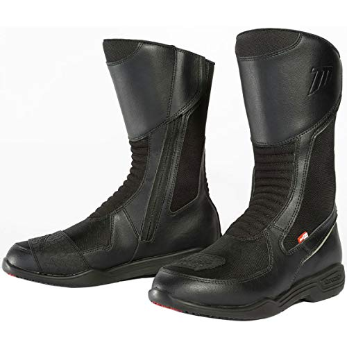 TourMaster Men's Epic Air Touring Motorcycle Boots (Black, Size 11)
