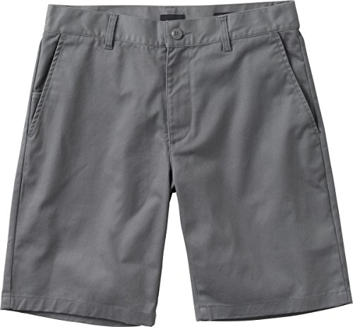 RVCA Men's The Week-End Stretch Short, Smoke, 38 (Stretch Shorts Zip Side)