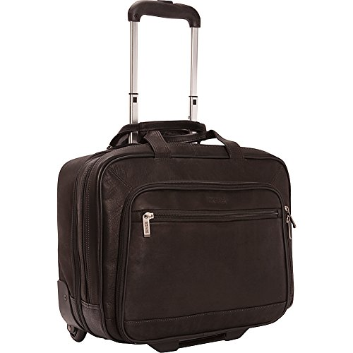 Kenneth Cole Reaction Okay Wheeled Business Case Black