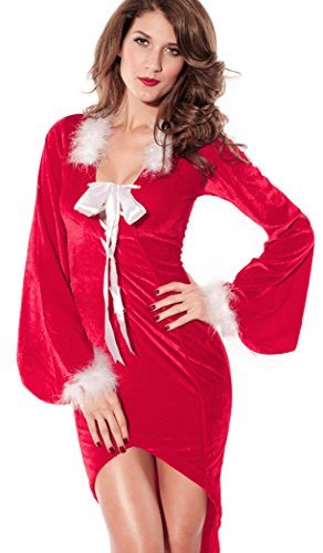 Black Friday PEGGYNCO Christmas Womens Christmas Xmas Customes Red Sexy Dress (Jovi Elf Costume)