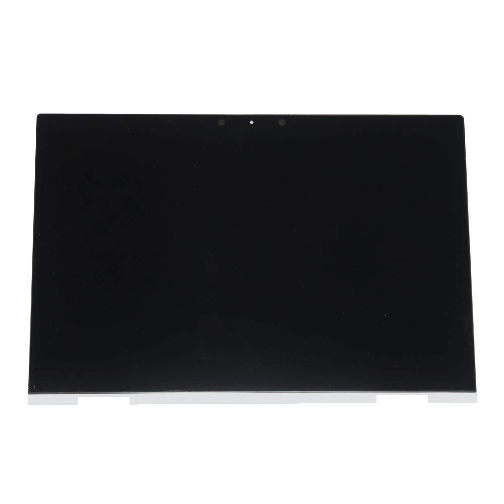 NBPCLCD 15.6'' FHD 1080P LED LCD Display Touch Screen Assembly w/Digitizer Control Board Silver Bezel Replacement for HP Envy X360 15M-CN 15M-CN0011DX 15M-CN0012DX L20114-001