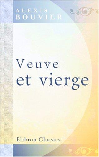 Download Veuve et vierge (French Edition) pdf