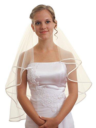 SparklyCrystal Women's Wedding Veil 2 T 1/4