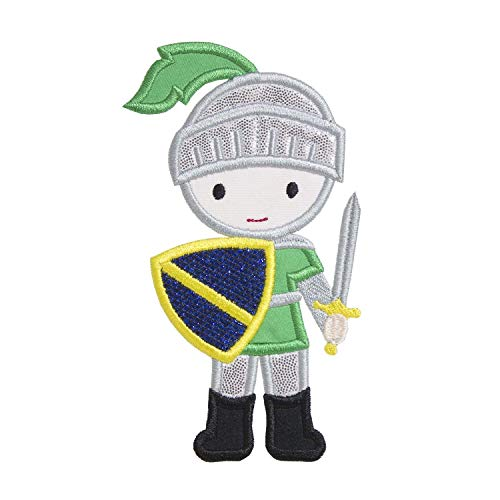 Knight Applique Patch - Iron on patch