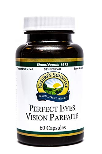 Natures Sunshine Perfect Eyes, 60 Capsules, Kosher, Natural Antioxidant Protection for Aging Eyes and Supports Macular Health