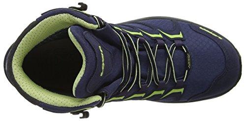GTX para Lowa Botas 5551 Mint Mujer Innox Senderismo Azul Pflaume de Mid W Z44RxT