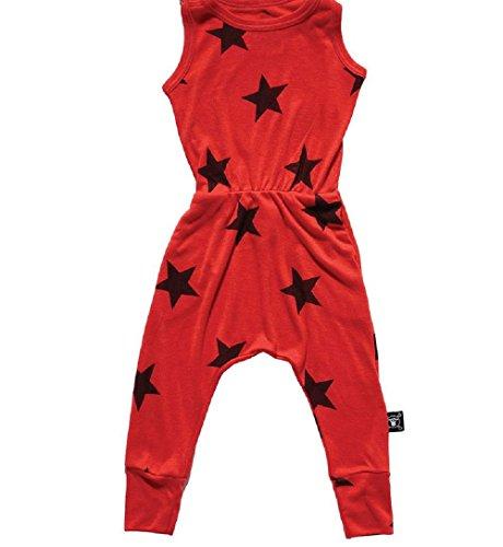 Nununu New Star Romper L Flame Red 6-7 Years