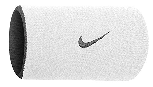Nike Tennis - Nike Home & Away DW Wristbands(White/black, ofsm)