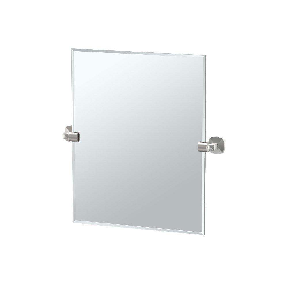 Gatco 4159SM Jewel Frameless Rectangle
