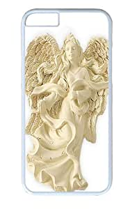 Angel of Tenderness Blessing Angel Ornament Custom iphone 6 plus 5.5 inch Case Cover Polycarbonate White