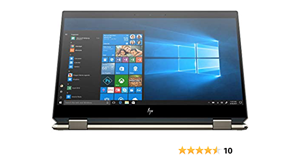 Newest HP Spectre x360 15t Touch with 10th Gen Intel i7-10510U, Stylus, 3 Years McAfee Internet Security,Windows 10 Professional, HP Worldwide Warranty, 2-in-1 laptop PC (16GB, 1TB SSD, Poseidon Blue)