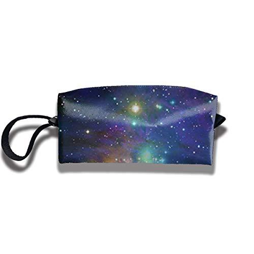 Yitlon8 Space Stars & Galaxy Swirls Coin Pouch Pen Holder Clutch Wristlet Wallets Purse Portable Storage Case Cosmetic Bags Zipper