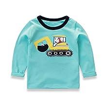 Boys T-shirt Baby Child Kids Long Sleeve Cotton Shirt Kids Top Tees Autumn