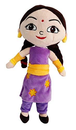 Chhota Bheem Kung Fu Dhamaka Chutki Plush Toy   30cm