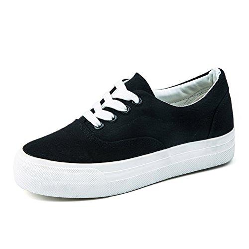 Cozy Maker(C&M)スニーカー ローカット スリッポン カジュアルシューズ 運動靴 レースアップシューズ レディース 女の子 軽量 旅行 ホワイト ブラック 大きいサイズ 人気 日常着用 歩きやすい