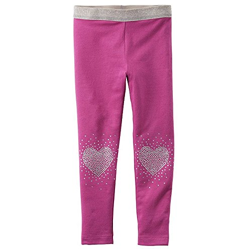 Hot Pink and Silver Sparking Leggins - 12 M -