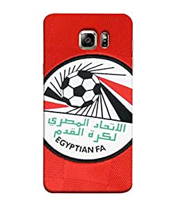 ColorKing Football Egypt 10 Red shell case cover for Samsung S6