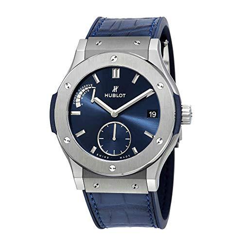 Hublot Classic Fusion Power Reserve 8 Days Titanium 45mm Men's Watch 516.NX.7170.LR