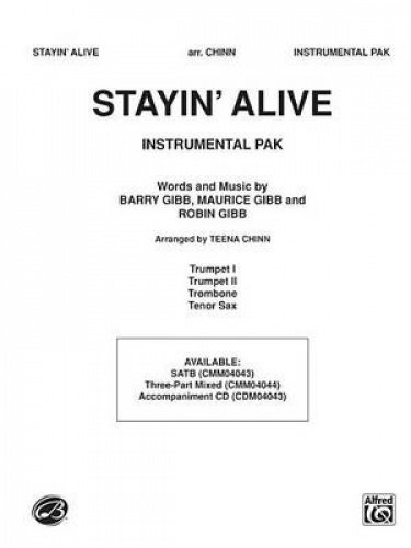 Stayin' Alive (a Medley of Hit Songs Recorded by the Bee Gees) (Pop Choral) pdf