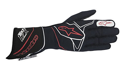 Alpinestars 2017 Tech 1-ZX Glove - Size Large - Blue Navy/White/Red - SFI 3.3 LEVEL 5/FIA 8856-2000 (3550317-718-L) by Alpinestars