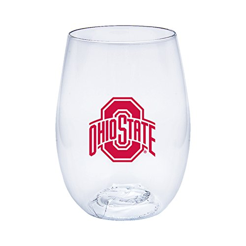Ohio State Buckeyes Govino Shatterproof Wine or Beverage - Buckeyes Wine