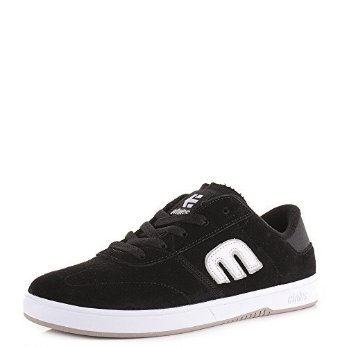 Etnies Herren Lo Cut Leder schwarz weiß Lace Up Sneakers Freizeit, Sport
