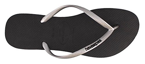 Slim Flop Logo Black Pop Havaianas Flip Women's Sandal up 5qfw0