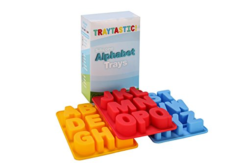 Silicone Alphabet Trays Mold by Traytastic! - Large 1.5