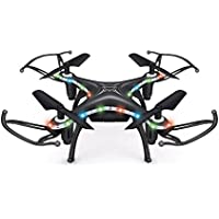 Owill X13D 2.4GHz 4CH Led Mini Remote RC Quadcopter 3D Rollover Helicopter Great Christmas Gift for Everybody (Black)