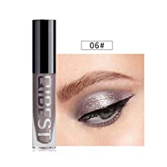 Features:  Flashing eyeliner  Can be used as eyeliner pen and eyeshadow pen  portable size, easy to carry.  Product Type: Liquid Glitter Eyeliner and eyeshadow  Effect: long-lasting, water-tight  Note: that due to lighting effect and computer...