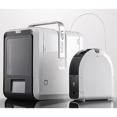 Tiertime UP mini 2 3D Printer, optimized for ABS, fully enclosed, WIFI, Blackout Recovery, 1.75mm filament