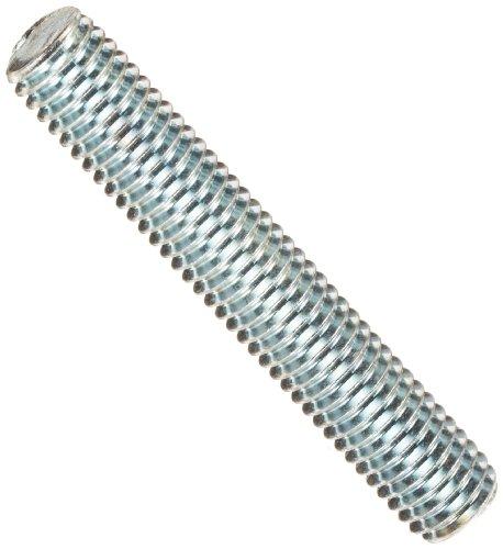 Steel Fully Threaded Stud, Zinc Plated, 1/2