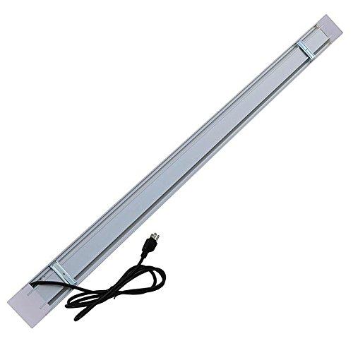 LEDwholesalers 4-ft Aluminum LED Utility Shop Light With