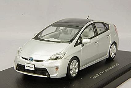 Toyota Prius Moonroof Modellauto Model Car Ebbro 1//43